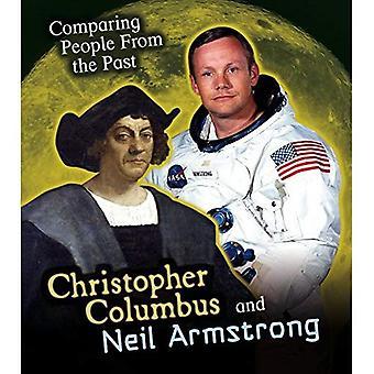 Christoffel Columbus en Neil Armstrong (vergelijking mensen uit het verleden)