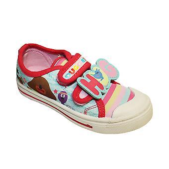 Hey Duggee Girls Madonnino Printed Lowtop Trainer Shoe