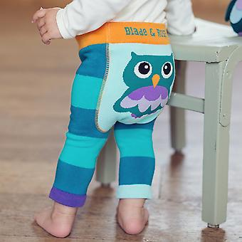 Blade & Rose Oheo Owl Baby Leggings