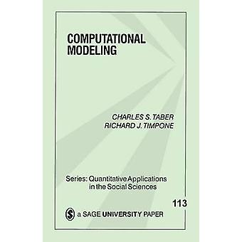 Computational Modeling by Taber & Charles S.