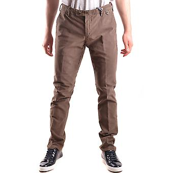 At.p.co Ezbc043050 Men's Brown Cotton Pants