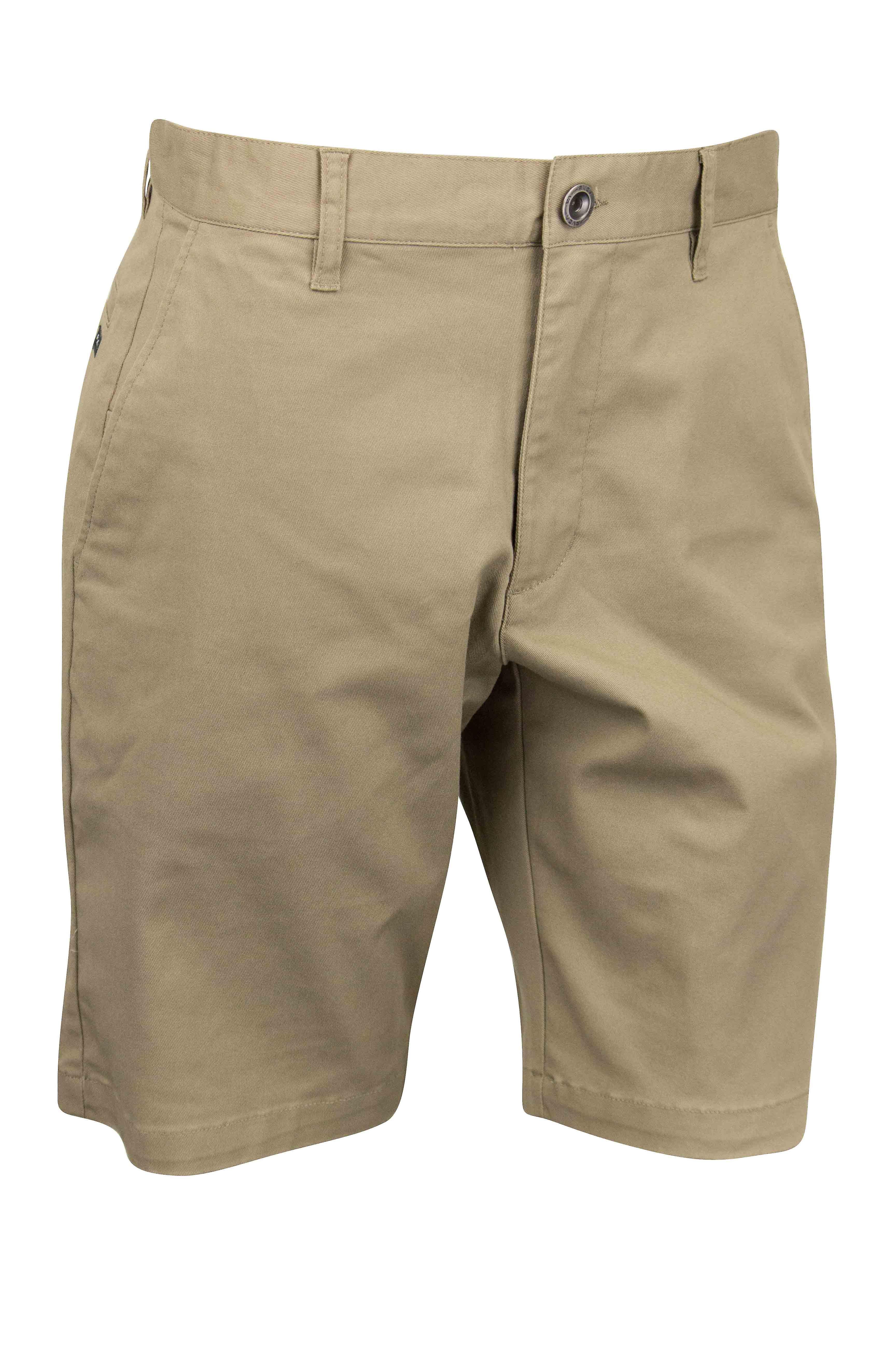 RVCA Mens VA Sport Weekend Stretch Casual Chino Shorts - Dark Khaki
