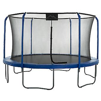Skytric - 13 FT. Big Trampoline with Top Ring Enclosure System, Safety Net, Jumping Mat, Spring Cover Pad for Garden & Outdoor - Easy Assemble