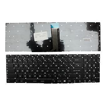 MSI 9Z. Ja NEKBN. B0F taustavalaistu musta Windows 8 Ranskan layout korvaaminen Laptop Keyboard