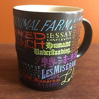 Banned Books Ceramic Coffee Mug
