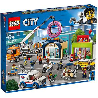 LEGO 60233 City donut shop opening
