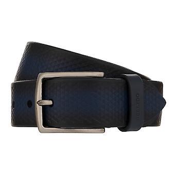MIGUEL BELLIDO desgaste do esporte correia cinto de couro cinto preto cinto preto azul 8024
