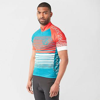 New Dare 2B Men's AEP Clarify Cycling Jersey Red