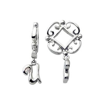 Storywheels Silver U ensimmäinen Dangle Charm S220D