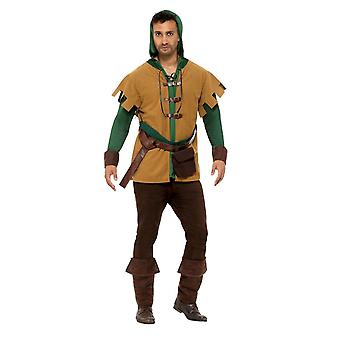 Robin Of The Hood Costume,Historical Fancy Dress, Large