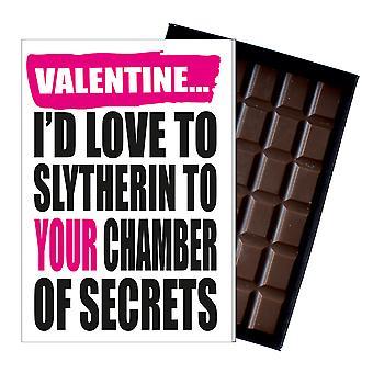Rude Valentines Harry Potter inspiriert Geschenk Frauen Freundin Schokolade Karte IYF182