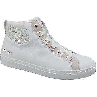 Skechers Side Street Core-Set Hi  73581-WHT Womens sneakers