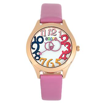 Crayo Spirit Unisex horloge-roze
