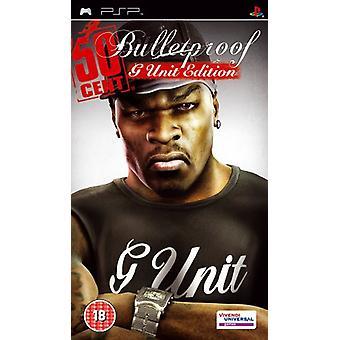 50 sentin luodinkestävä G-Unit Edition (PSP) - uutena