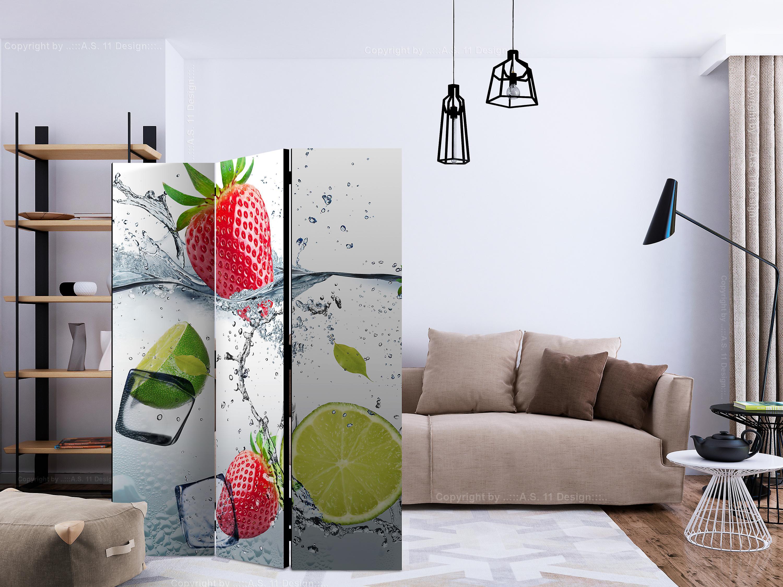 Paravent 3 volets - Fruit cocktail [Room Dividers]