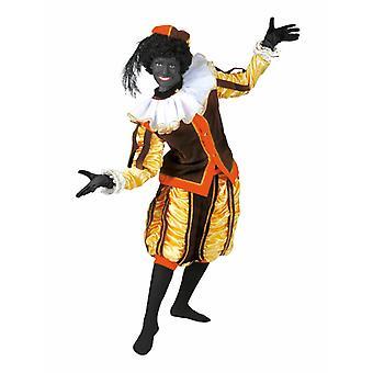 Zwarte Peter Piet Nikolaus mannen kostuum Ruprecht dienaar uniform mannen kostuum