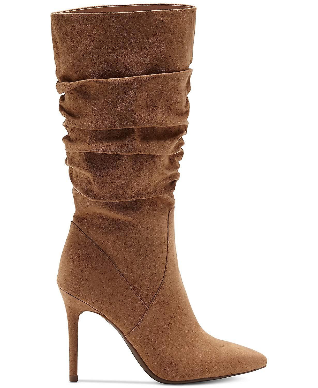 Jessica Simpson damskie lyndy zamszu wskazał Toe Moda Buty do połowy łydki NdnXN