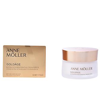 Anne Möller Goldâge Extra Rich restaurativen Creme Spf15 50 Ml für Damen