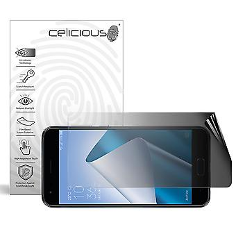 Celicious Privacy 2-Way Landscape Anti-Spy Filter Screen Protector Film Compatible with Asus Zenfone 4 (ZE554KL)