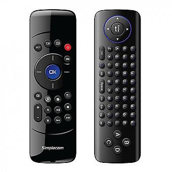 Simplecom Wireless Remote Air Mouse Keyboard Combo für PC Android Box