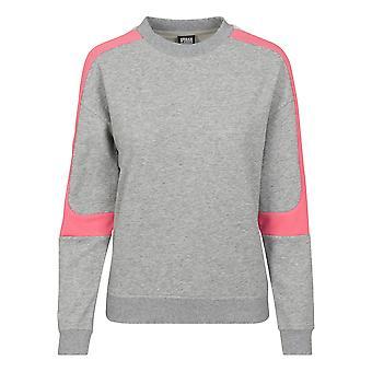 Urban Classics dame sweatshirt panel frotté