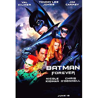 Batman Forever (Double Sided Regular) Original Cinema Poster