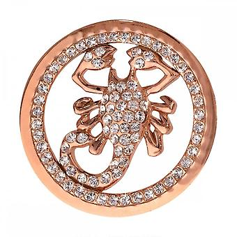 Nikki Lissoni I Will Protect You Medium Rose Gold Plated Coin C1052RGM