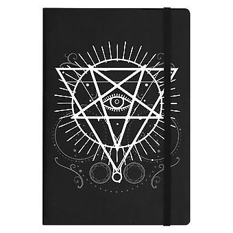 Grindstore Pentagram Eye A5 Hard Cover Notebook