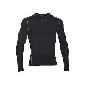 アンダーアーマー圧縮クルー1265650001ランニングオールイヤー男性Tシャツ