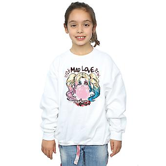 DC Comics Girls Harley Quinn Mad Love Sweatshirt