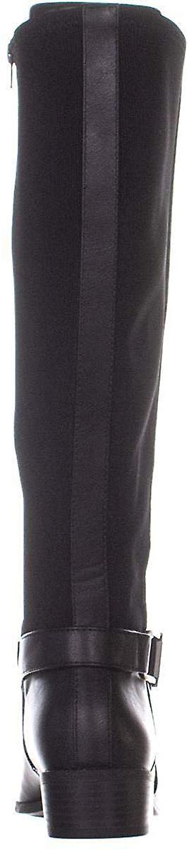 A35 Kallumm Wide Calf Knee High Boots, Czarny, 5.5 USA Y5GXr