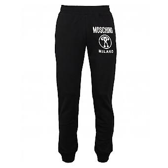 Moschino Couture Milano Logo Slim Fit Jogger