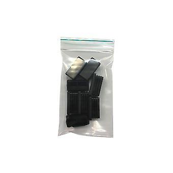 Tapa de impacto rectangular 2 por 4 cm (bolsa 8 piezas) (1 pieza)