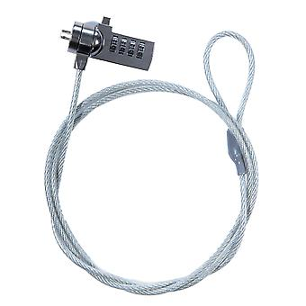 TRIXES Laptop Security Cable Combination Coded Lock