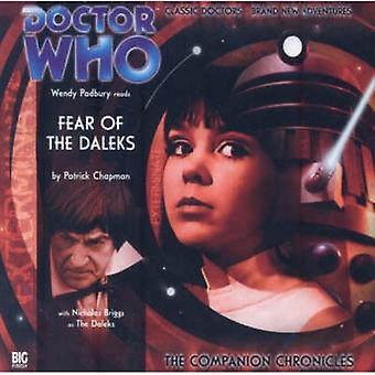 Fear of the Daleks by Patrick Chapman & Performed by Wendy Padbury & Performed by Nicholas Briggs