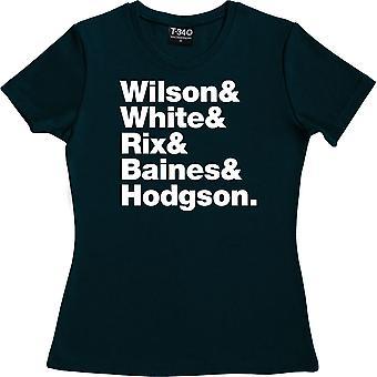 Kaiser Chiefs Line-Up Navy Blue Women's T-Shirt