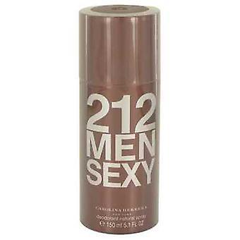 212 Sexy Par Carolina Herrera Deodorant Spray 5.1 Oz (hommes) V728-540008