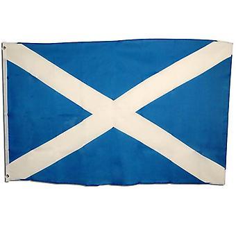 Flaga Szkocji. 3' x 5' tkaniny.