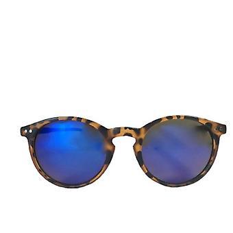 California Style Co Okulary przeciwsłoneczne lampart i turkusowe anioły