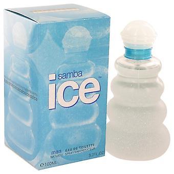 Samba ice eau de toilette spray by perfumers workshop 413035 100 ml
