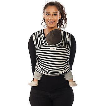 Babylonia Baby Sling Tricot-Slen design Black & White Stripes