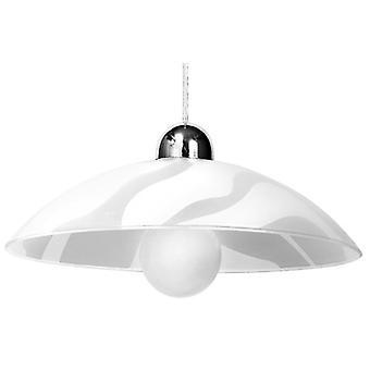 Sollux WELLE 1 Light Ceiling Pendant White SL.0174