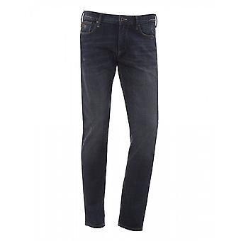 Emporio Armani J06 Slim Fit Denim Blue Jeans