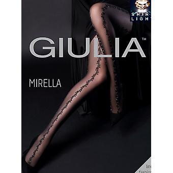 Giulia Mirella Fishnet Panel Tights