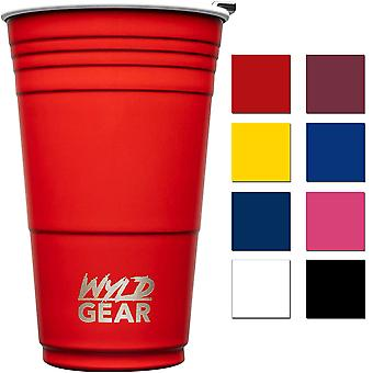 Wyld Gear 16 oz. Insulated Stainless Steel Party Cup Tumbler