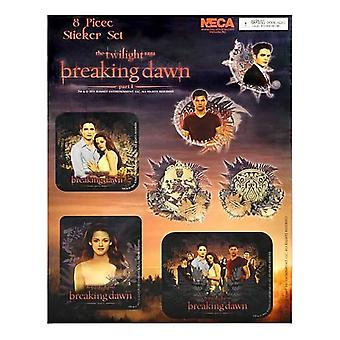 Twilight Saga Dawn Part 1 Sticker Set Assorted Designs