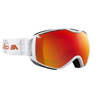 Julbo Ski Mask Quantum White/Grey Orange Flash Fire