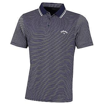 Callaway Golf Mens Micro Stripe Tour OptiDri Wicking Polo Shirt