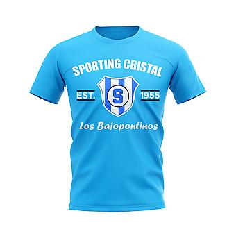 Sporting Cristal Established Football T-Shirt (Sky Blue)