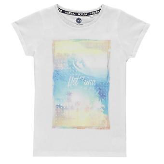 Hot Tuna Girls T Shirt Junior Crew Neck T-Shirt T-Shirt Top Korte Mouw Shirt